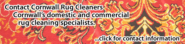 Contact Cornwall Rug Cleaners, Cornwalls Rug Cleaning Specialists